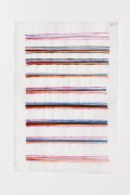 Hella Berent: Watercolor #517 (HB/P 24), 2007, Watercolor on Numbered Wrapping Tissue, 22,7 x 32,7 cm