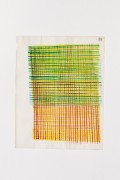 Hella Berent: Watercolor #18 (HB/P 12), 1998, Watercolor on Numbered Wrapping Tissue, 20,7 x 27,7 cm