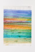 Hella Berent: Watercolor #502 (HB/P 18), 1999-2004, Watercolor on Numbered Wrapping Tissue, 22,7 x 32,7 cm