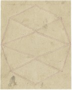 Lynne Woods Turner: Untitled, 2009, Pencil on Paper, 12,7 x 10,1 cm