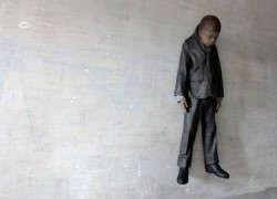 Jonas (SM/S 4), 2011, Patinated Bronze, H 120 cm