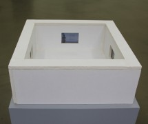Museum (TB/S 36), 2013, Plasterboard and Movie Installation, 19 x 51 x 51 cm
