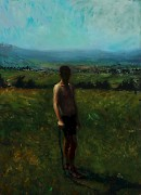 Szabolcs Veres: Fool on the Hill (VS/M 33), Oil on Canvas, 59,6 x 43,6 cm