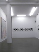 Installation view | Walking the Line VII | artworks by Erik de Bree, Wim Maes and Andreas Kocks